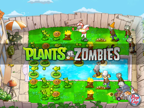 Plants vs. Zombies per iPad