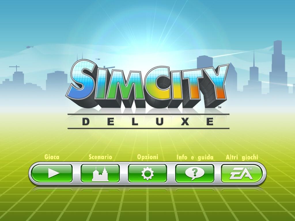Simcity Deluxe per iPad