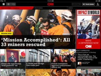 CNN per iPad