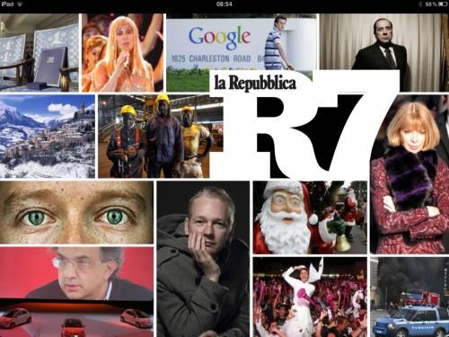 Copertina Repubblica R7
