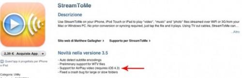 Prima applicazione approvata per iOS 4.3