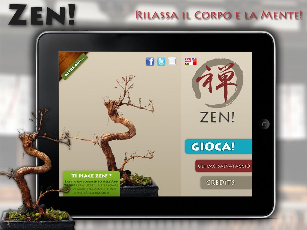 Zen per iPad screenshot