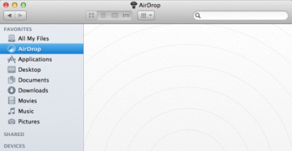 AirDrop screenshot