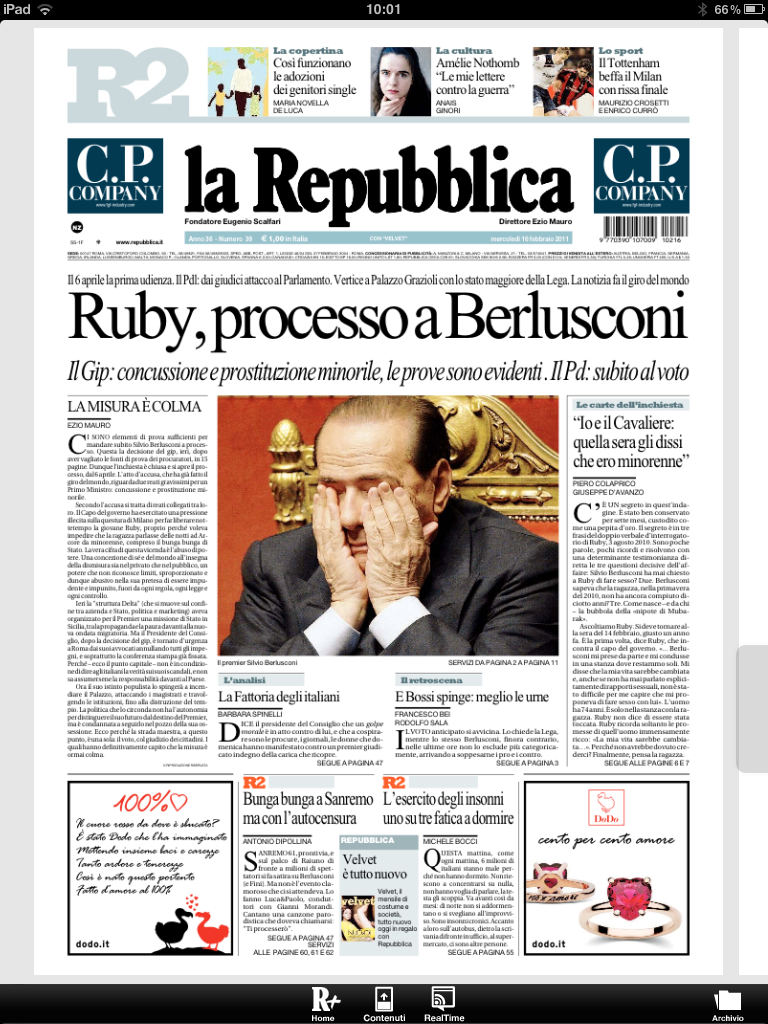 la repubblica ipad 3 ipad italia blog