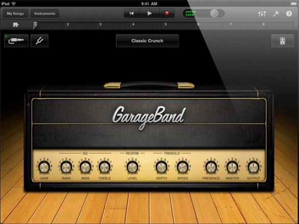 GarageBand per iPad