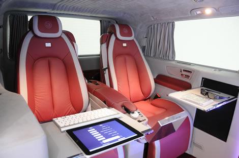 Mercedes Benz Viano iBusiness 3D Sedili