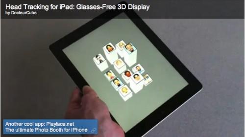 Applicazioni per iPad 3D