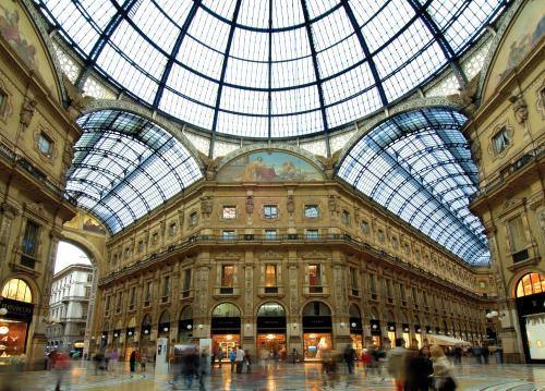 La Galleria Vittorio Emanuela a Milano