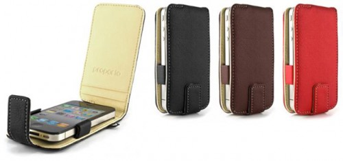 Proporta Leather Style per iPhone 4