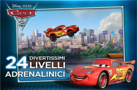 Cars 2 per iOS