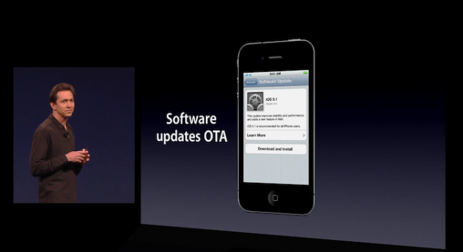 iOS 5.0 software update