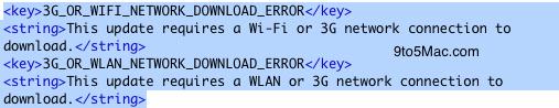 iOS5 3G updates
