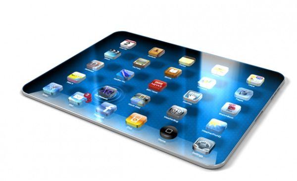 iPad 3 mockup