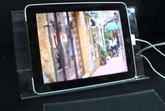 iPad 3 schermo 3D