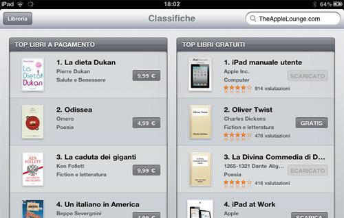 iBook Store italia